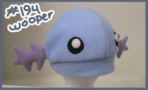 Wooper hat by Hazuza