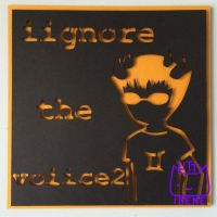 Sollux Captor Paper Cutout Quote by Kitty-Irene