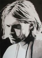 Kurt Cobain by Markbickley
