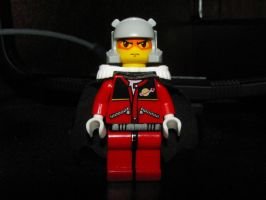 Lego Char Aznable by Bleu-Ninja