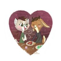 [2/100] Dinner For Two by BriMercedes