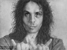 Ronnie James Dio - I by RonnySkoth