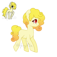 Redesigned adopt [Closed] Cheese themed by AcrylliaV