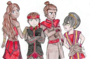 To the Fire Nation by lauu7