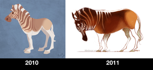 Quagga Comparison by sketchinthoughts
