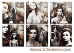 Abigails Garden Icons by VaL-DeViAnT