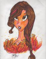.:Girl onFire:. by Orthgirl123