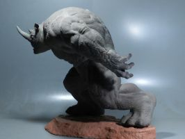 Rhino Sculpture 11 by loqura