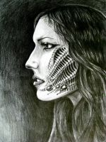 giger's girl by maggothica