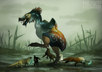 Asotus - Big Ass Chicken by Mikaley