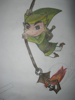 toon link by hardywolf