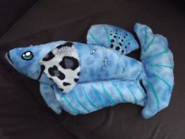 Elephant Ear Halfmoon Plakat Betta Plush by Syrazel-NightRose