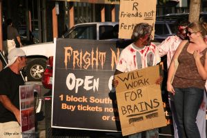 Zombie Protest 4 by SkyeLitephotography