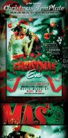 Cristmas Eve PSD Flyer Template Preview Image by yAniv-k