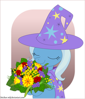 The Great and Flowerful Trixie by Botchan-MLP