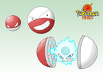 voltorb, electrode and Atomizor by dragonmanX