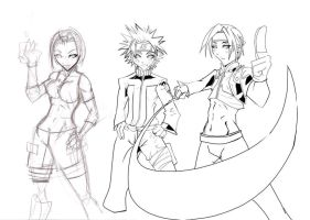 team7 sketch by zhane00