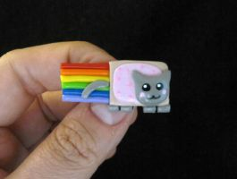 Nya Nyan Cat Pin by egyptianruin