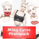 Miley Cyrus Photopack by martinabeliber