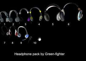 Headphone pack 1+DL by Sefina-NZ