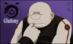 Homunculus's Series: Gluttony by Kaze-11