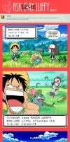 Ask Bad-Ass Luffy - 20 by JaredofArt