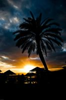 sunset in aqaba by tuebengtsson