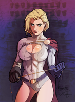 power girl by MIKE-RAYN3R