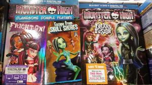 Two Monster High Movies by Mileymouse101