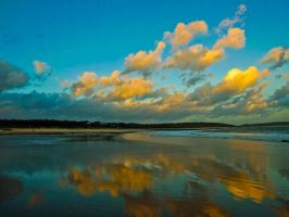 Dusk At Newton Beach Oct 11 by welshrocker