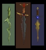3 swords by firesprite