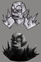 Grizzled orcs by RedPaints
