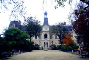 Mairie by floratatouille