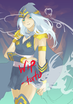 Ashe redo wip by Tato-Commissions