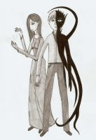 Aron and Nerette by Rayder3d