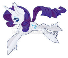 Flourish Ponies: Rarity by NeroStreet