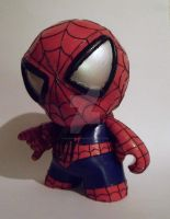 Spider Man Munny by raVen-MacKay
