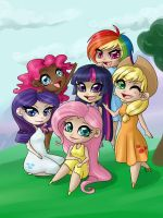 MLP FiM humanized by Sonten