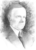 Calvin Coolidge by ThePioden