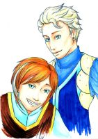 If Anna and Elsa were men by Sati-Chan-Meown
