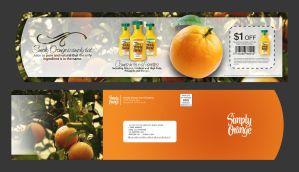 Simply Orange Direct Mailer by JustMarDesign