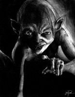 Gollum by decaymyfriend