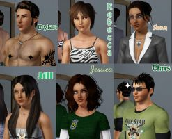 Sims 3 Awkward Family Pictures by SuperMeja