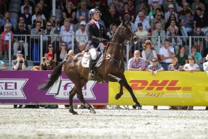3DE Show Jumping Phase Stock 173 by LuDa-Stock