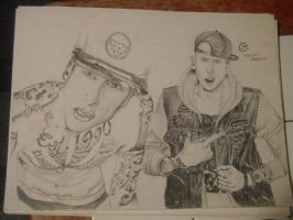 Machine Gun Kelly 2times by ArtisticMindz