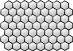 Mesh Hexagon Pattern Shiny PNG by adream0fsin