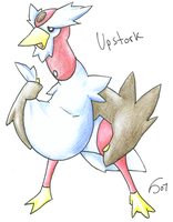 UPSTORK by lydario