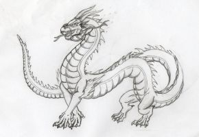 Chinese Dragon by LamLArts