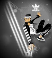 Adidas Finger Paint by sir-rudolph