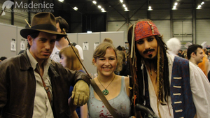 Indy, Lara, Jack - @ Facts 2012 by Madenice